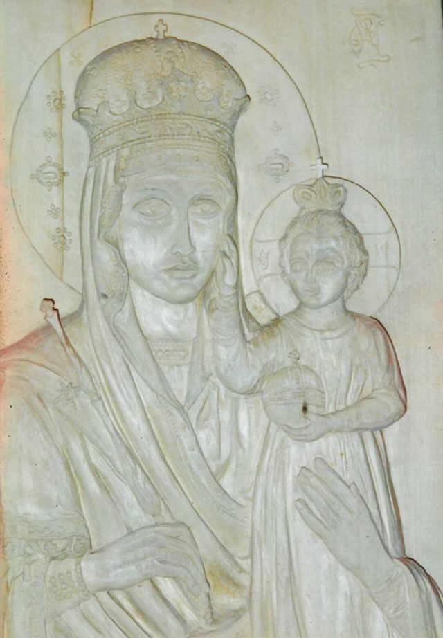 Деревянная икона №1