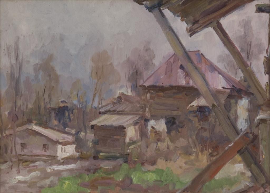 Выставка живописи. Сергей Беседин. Картина 1