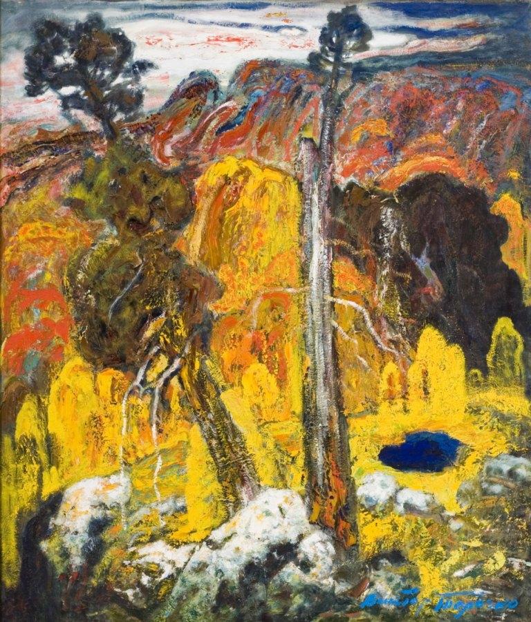 Выставка живописи. Виктор Толочко. Картина 1