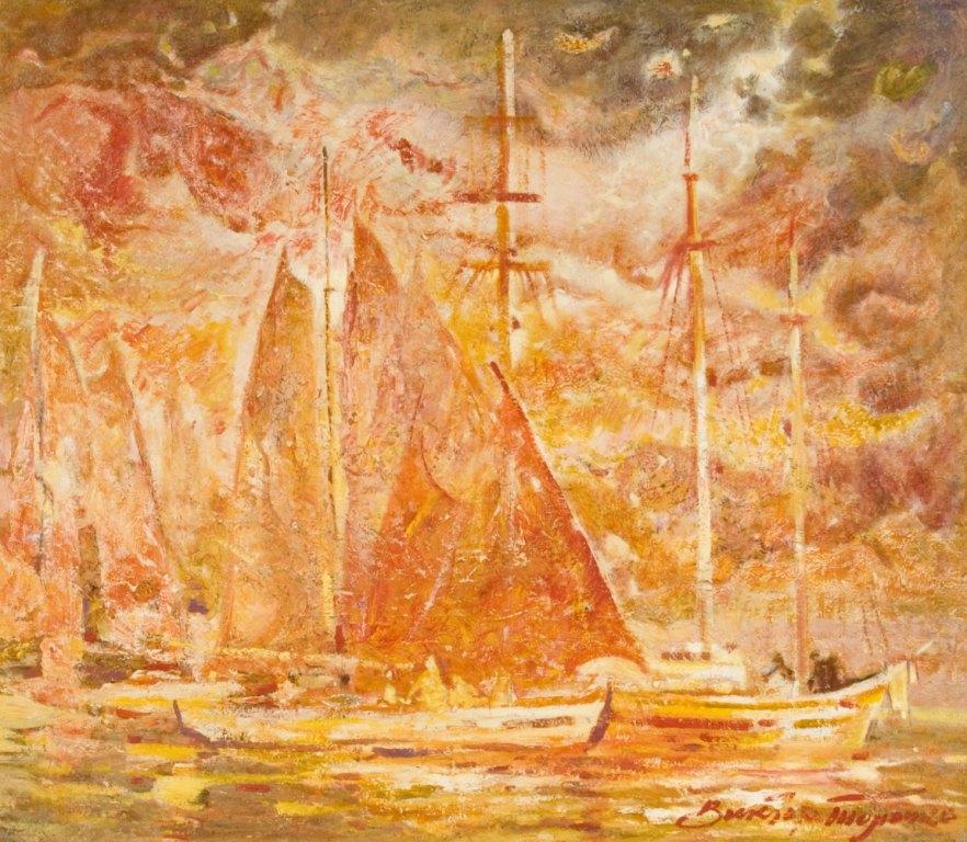 Выставка живописи. Виктор Толочко. Картина 2