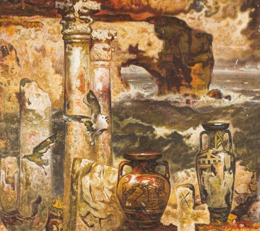 Выставка живописи. Виктор Толочко. Картина 3
