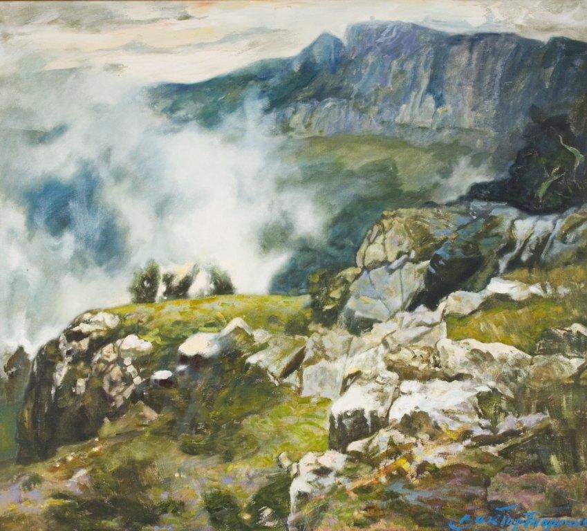 Выставка живописи. Виктор Толочко. Картина 4