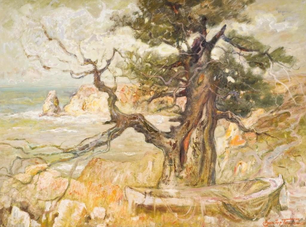 Выставка живописи. Виктор Толочко. Картина 5