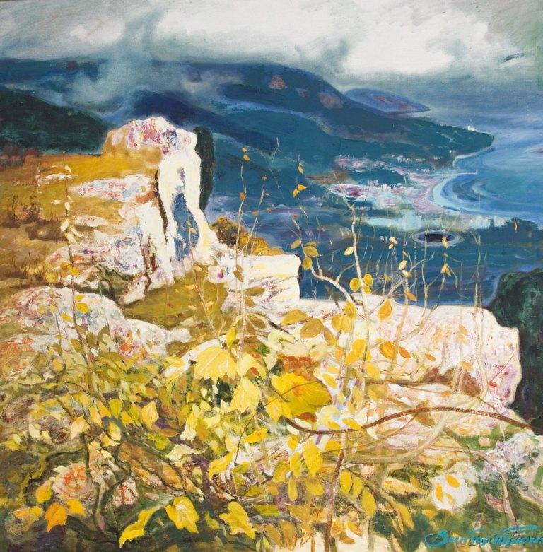 Выставка живописи. Виктор Толочко. Картина 6