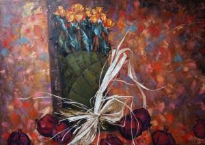 выставка современной живописи Анастасии Крайневой «Объем цвета»