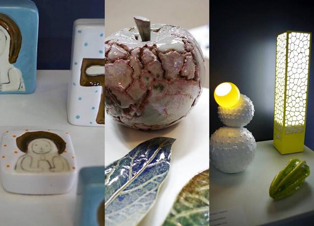 Керамика на выставке