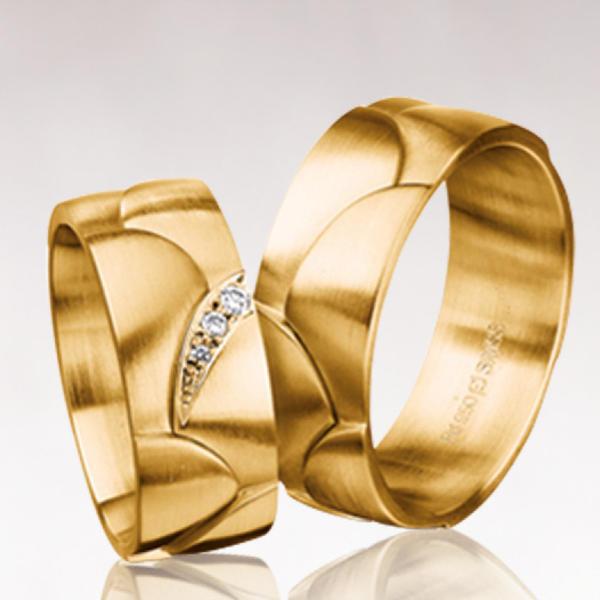 Кольцо обручальное 0141
