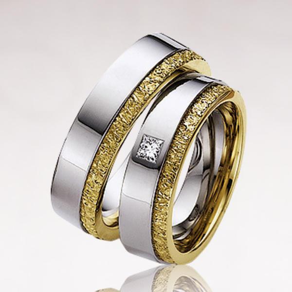 Кольцо обручальное 015