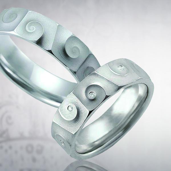 Кольцо обручальное 095