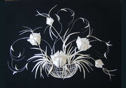 В ноябре в Доме природы проходит выставка Елены Журавской «Косточковое кружево»