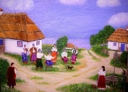 """24 декабря в библиотеке искусств им.М.Бажана пройдет благотворительная выставка работ художников объединения """"Творчество"""""""