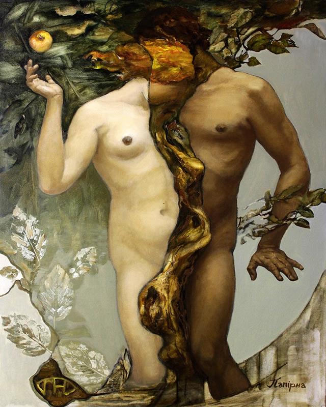Наталія Папірна_Адам і Єва