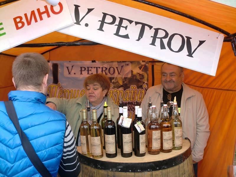 Вино на фестивале