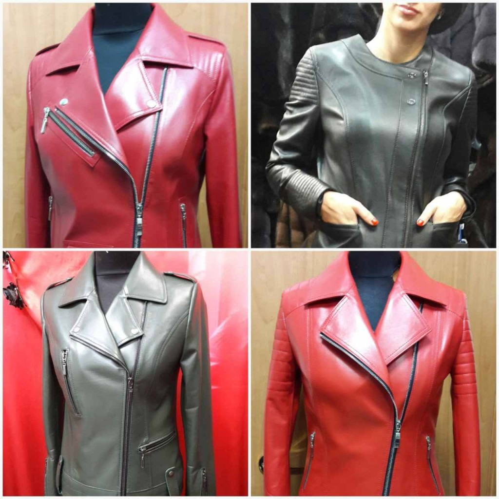 Распродажа кожаных курток во Дворце Спорта