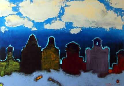 """2 августа в арт-пространстве Lera Litvinova Gallery откроется персональная выставки Семена Щербины «Ландшафт. Украина"""""""