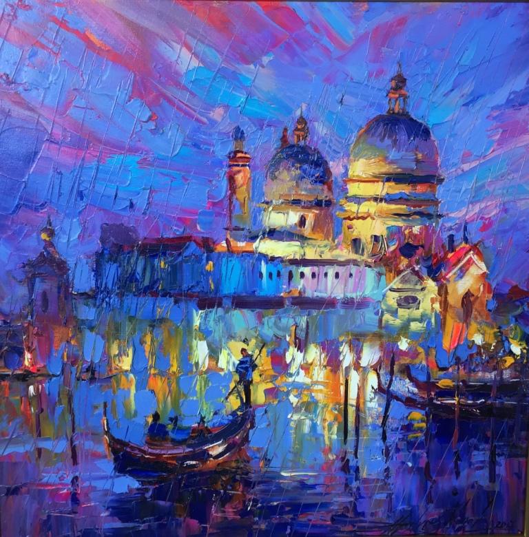 С 12 июля по 1 августа в Lera Litvinova Gallery пройдет выставка живописи Андрея Фиголя
