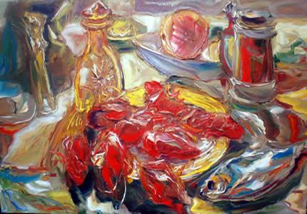 С 19 июля по 2 августа в арт-пространстве Lera Litvinova Gallery пройдет персональная выставка Любомира Мартынюка «Цветет сад»