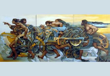 С 9 по 22 августа в Lera Litvinova Gallery пройдет персональная выставка Натальи Папирной «Линия тела»