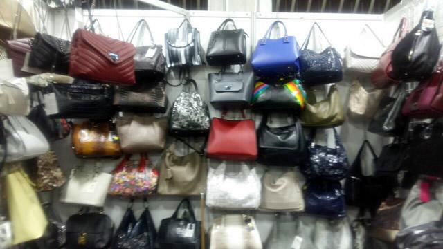 Кожаные сумки на выставке-ярмарке на ВДНХ