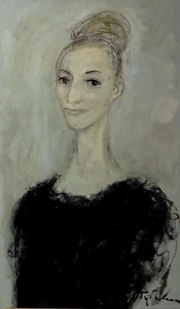 Автор Игорь Губский, Леонора, 70х40 полотно, холст, 2005