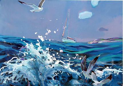 С 5 декабря по 5 ноября 2019 в галерее «Portal 11» пройдет выставка живописи Антона Гудзикевича «В солнечных бликах»