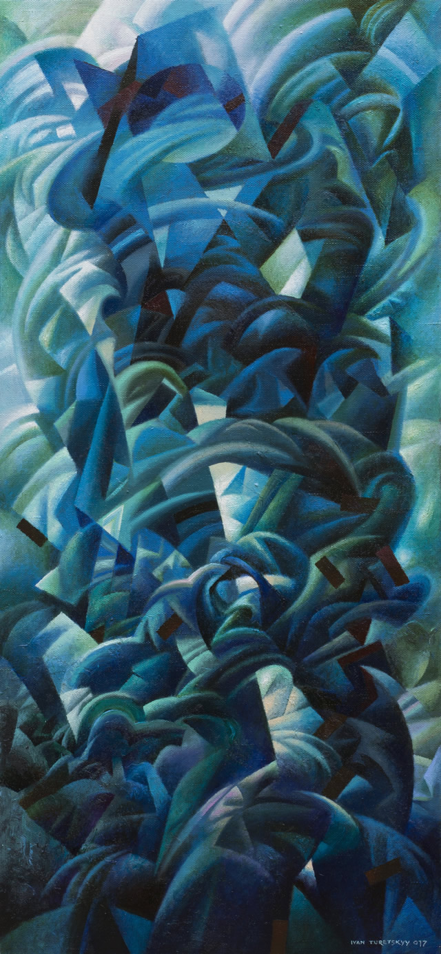 С 9 ноября по 2 декабря в галерее «Portal 11» пройдет выставка абстрактной живописи Ивана Турецкого