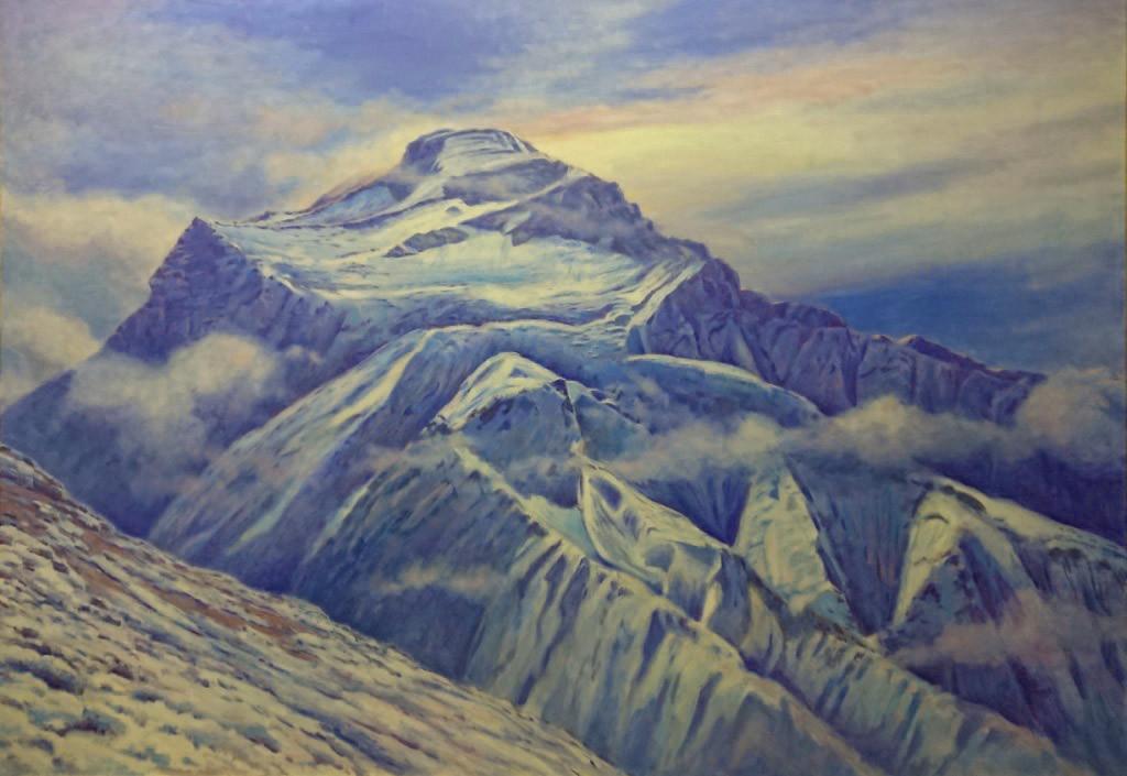 Гора Чо-Ойю(Милость богов),8201м, х.м.,140х200, 2018