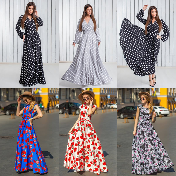 Летние платья от ТМ Никтан