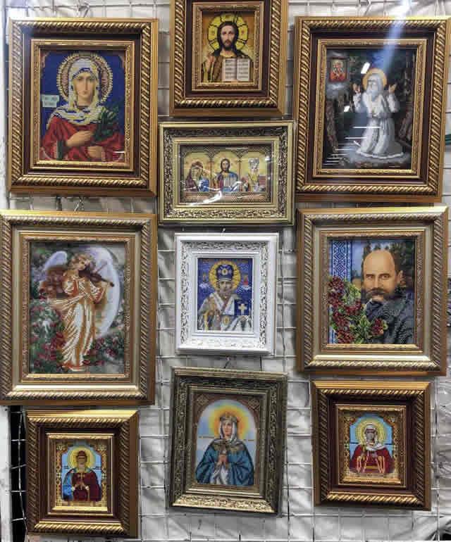 иконы на ярмарке