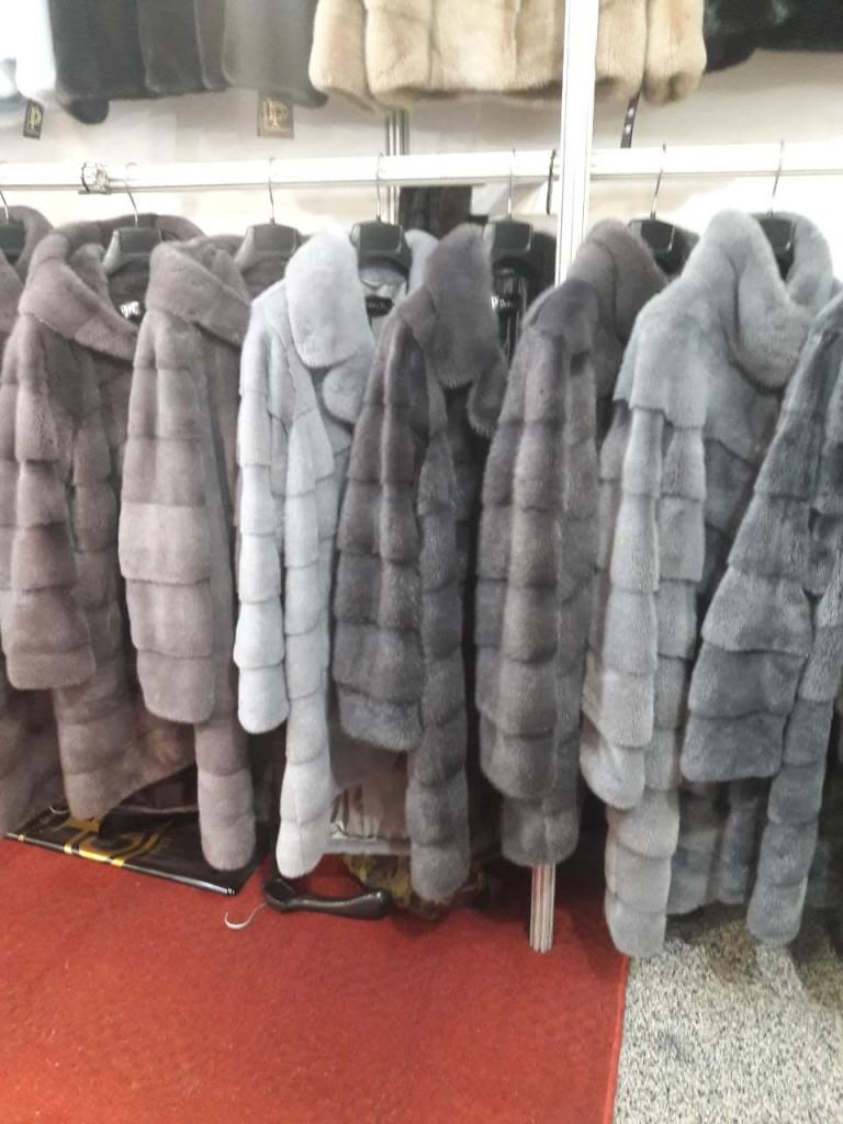 Купить норковую шубу на выставке в Киеве