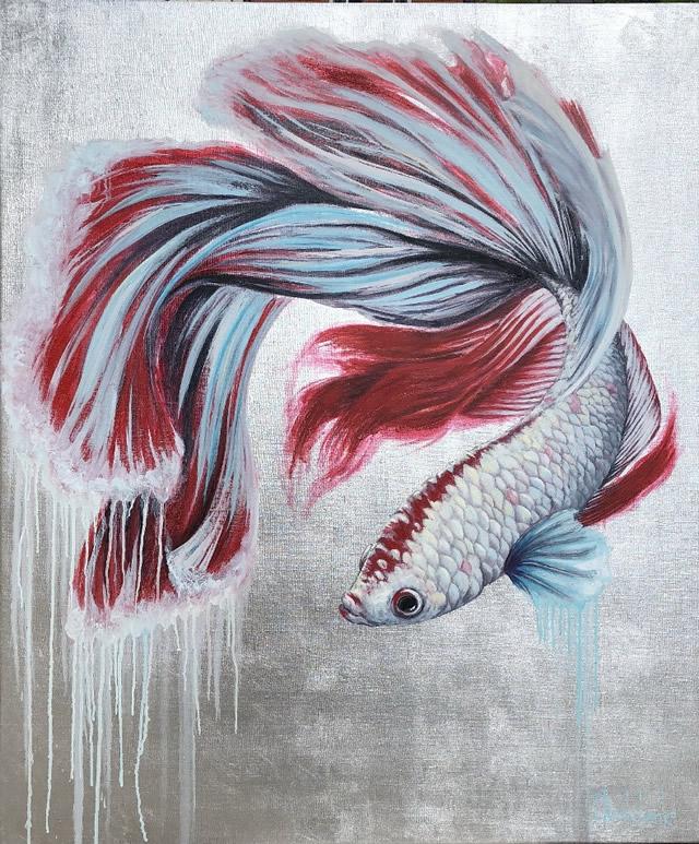 цветная рыбка