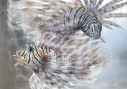 С 13 по 27 февраля в Lera Litvinova Gallery пройдет персональная выставка Дарьи Иващенко «Золотой улов»