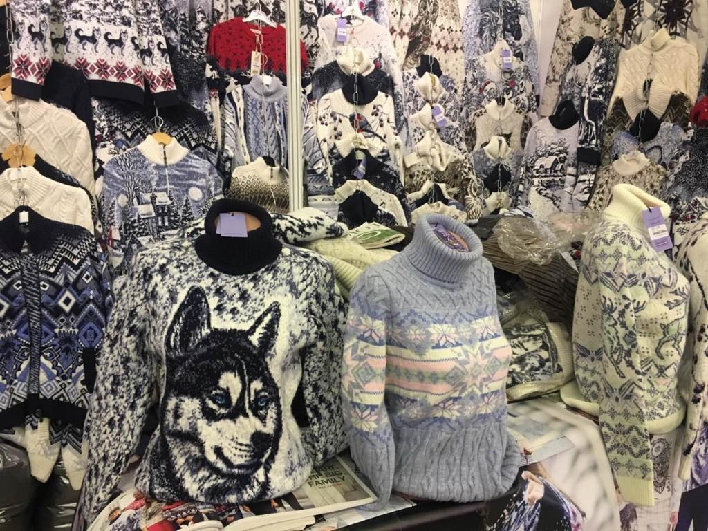 Мужские, женские и детские свитера в Киеве на выставке-ярмарке. Фото 1