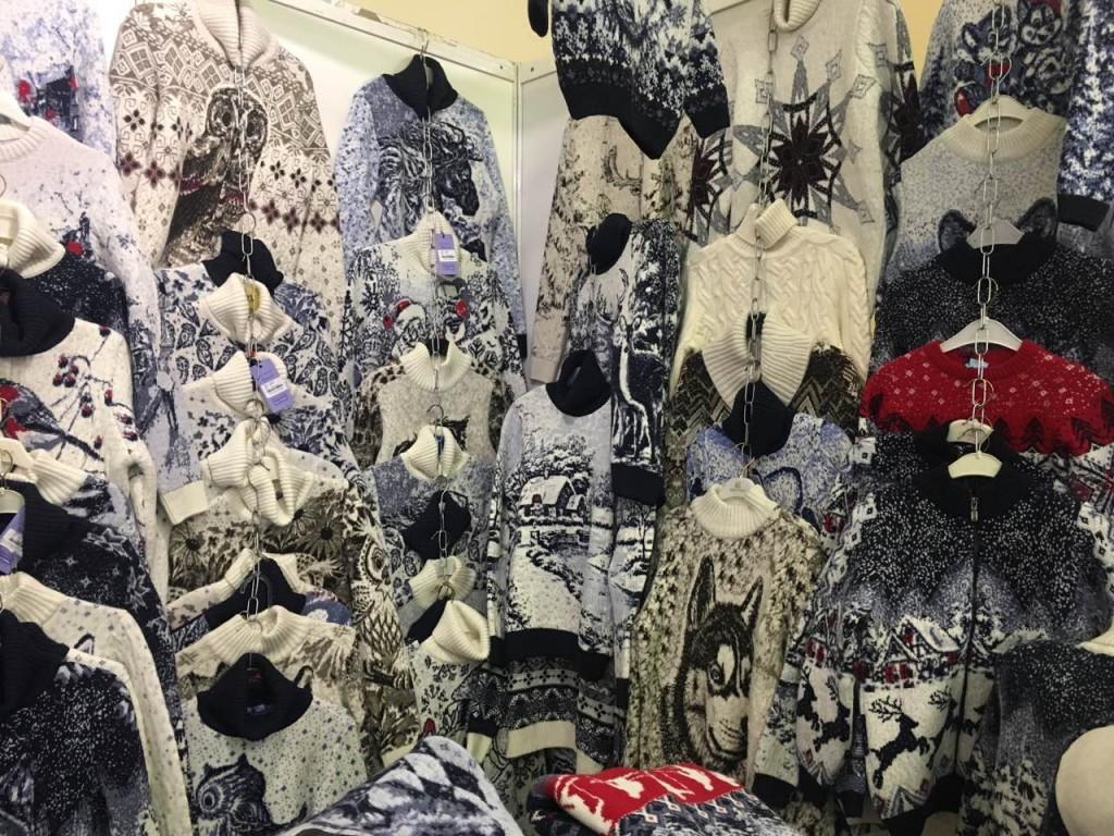 Мужские, женские и детские свитера в Киеве на выставке-ярмарке. Фото 3