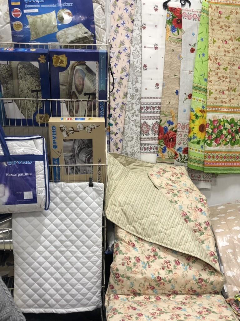 Одеяла и простыни от украинского производителя