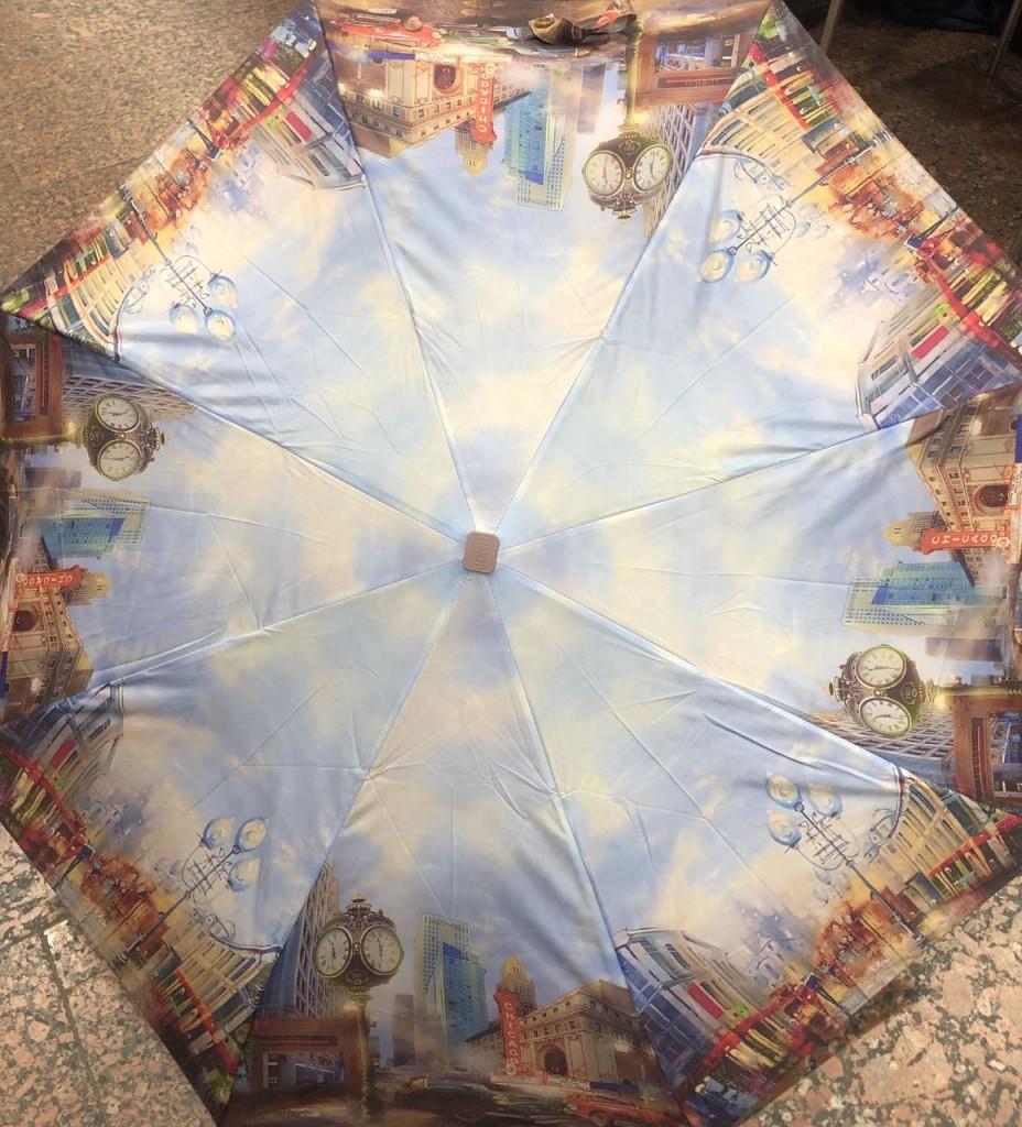 цветной зонт