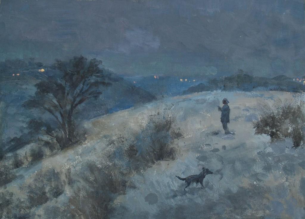 І Григорєв Взимку. Паcкотина 2012