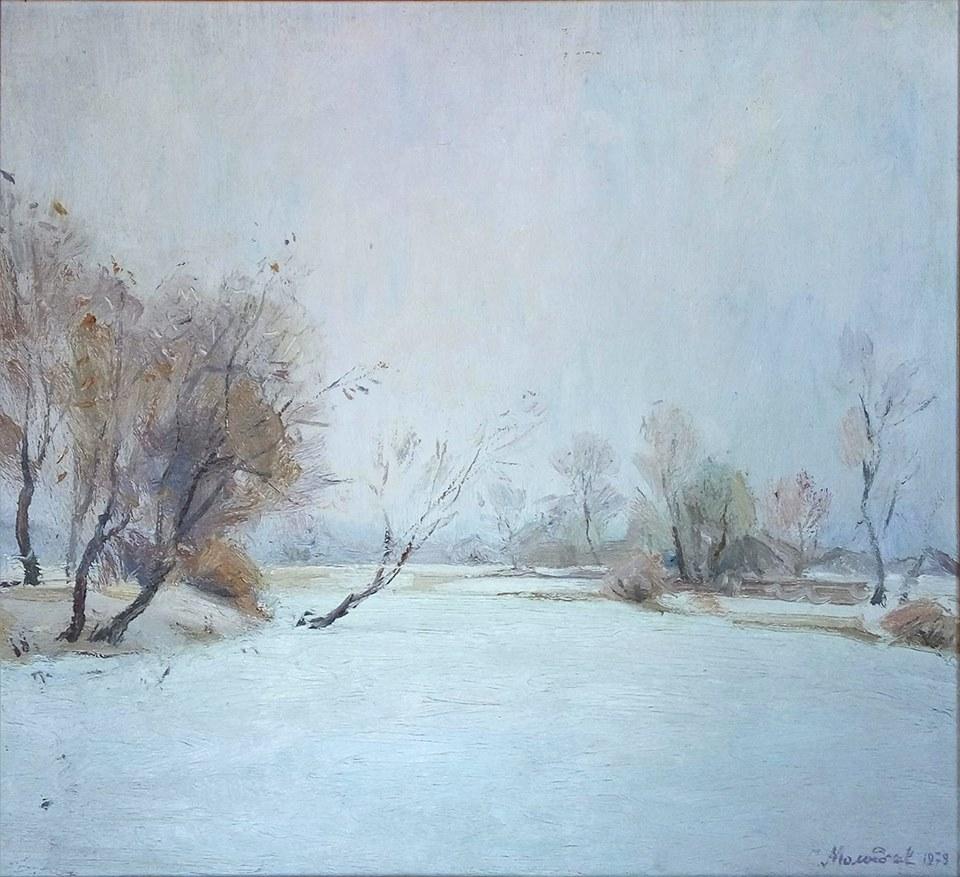 С Молодчіков Зима. 1979