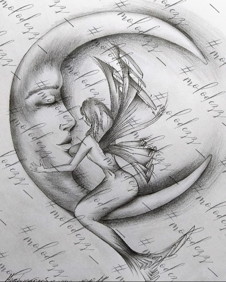 Екатерина Молодец - фея на луне