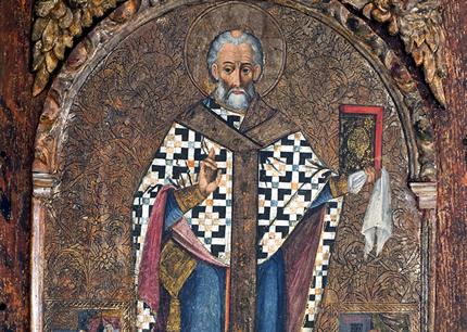 С 5 апреля по 5 мая в галерее НЮ АРТ пройдет выставка украинской иконы конца XVI - первой половины XX веков