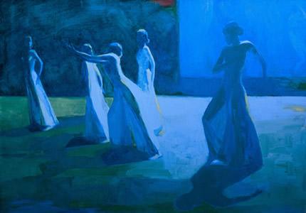 С 29 марта по 15 апреля в галерее «Portal 11» пройдет выставка живописи Татьяны Волошиновой «Танец»