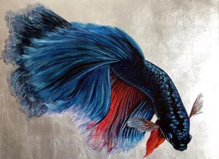 С 14 июня по 9 июля в Art gallery of Madam Palmgren состоится персональная выставка Дарьи Иващенко «Золотой улов»