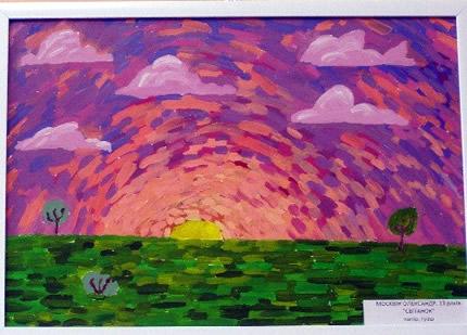 """С 30 мая до 10 июня в Доме природы пройдет выставка юного художника Александра Москвина """"Мой мир"""""""