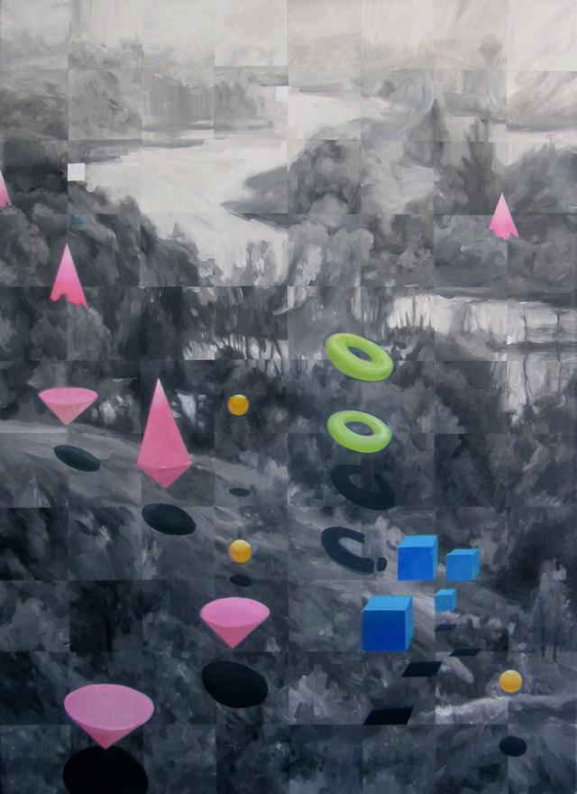Выставка живописи Павла Лысого. Картина 1