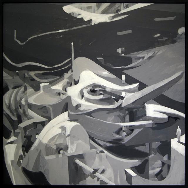Выставка живописи Павла Лысого. Картина 3