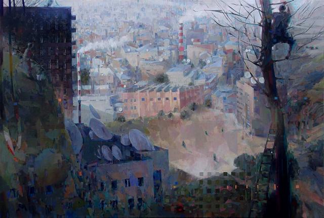 Выставка живописи Павла Лысого. Картина 5
