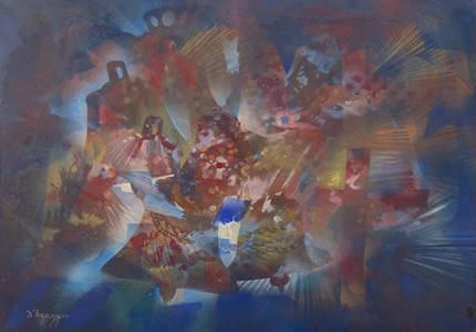 С 18 мая по 1 июня в галерее НЮ АРТ пройдет выставка выдающейся французской художницы Лемер ДьАґаджио
