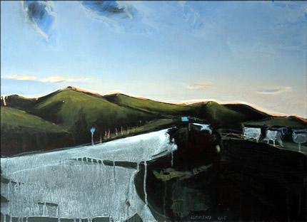 С 4 по 31 мая в Lera Litvinova Gallery пройдет персональная выставка пейзажа Алексея Белюсенко «Дорога в Судак»