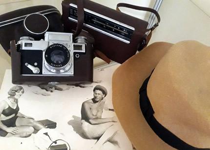 """С 11 июня по 15 июля в музее-квартире П. Г. Тычины пройдет фото выставка """"Лето, пляж, Тычина"""""""