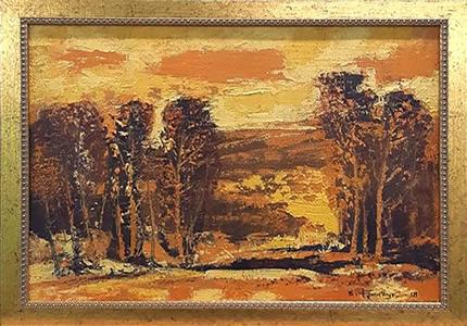 С 12 июля по 14 августа в Lera Litvinova Gallery пройдет выставка Народного художника Украины Валерия Франчука «Пейзаж, 2011-2019»